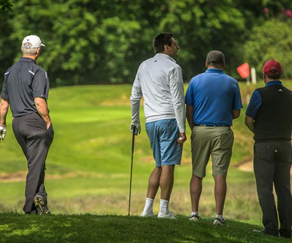 Golf men group backs