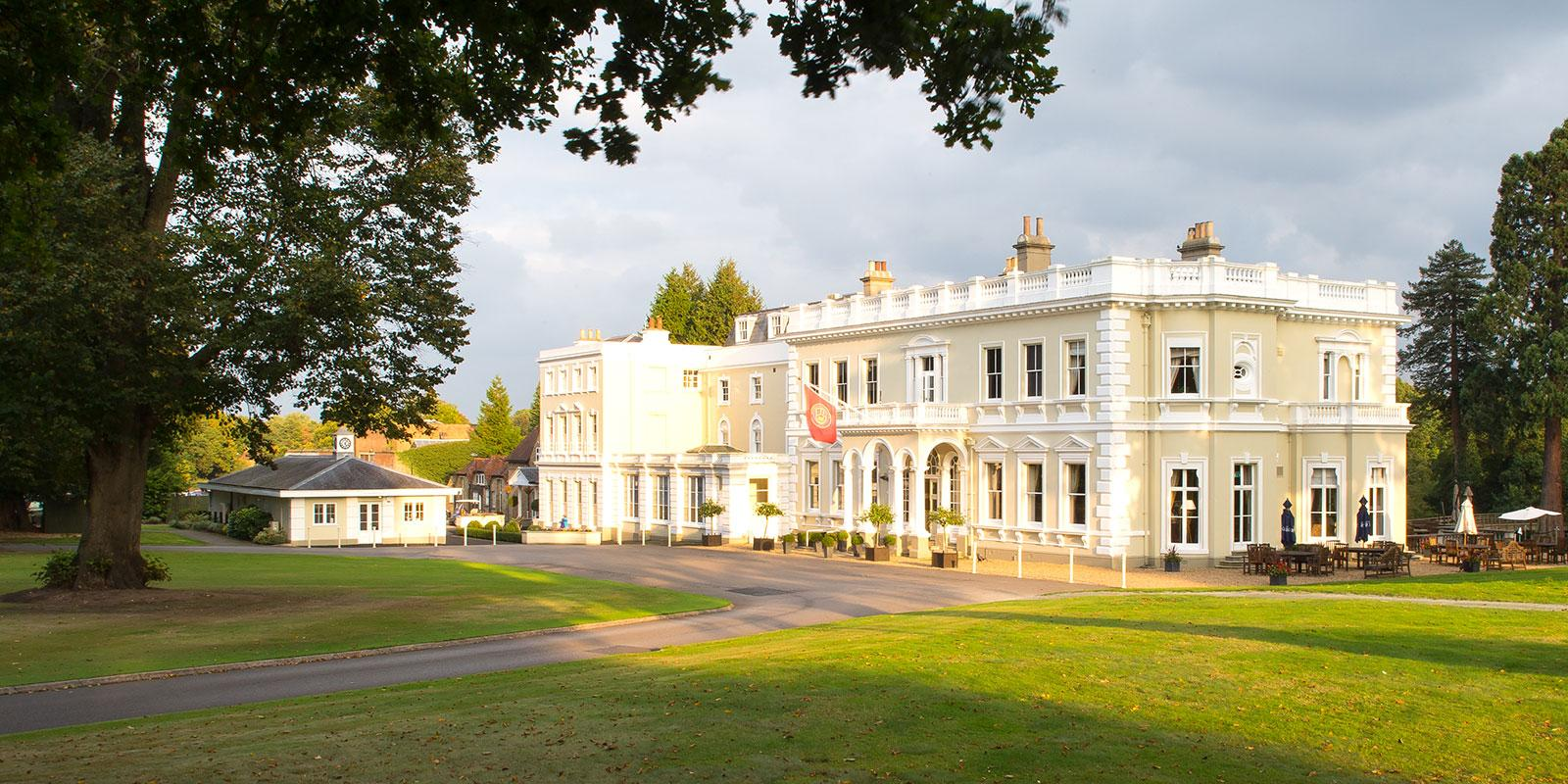 Burhill clubhouse