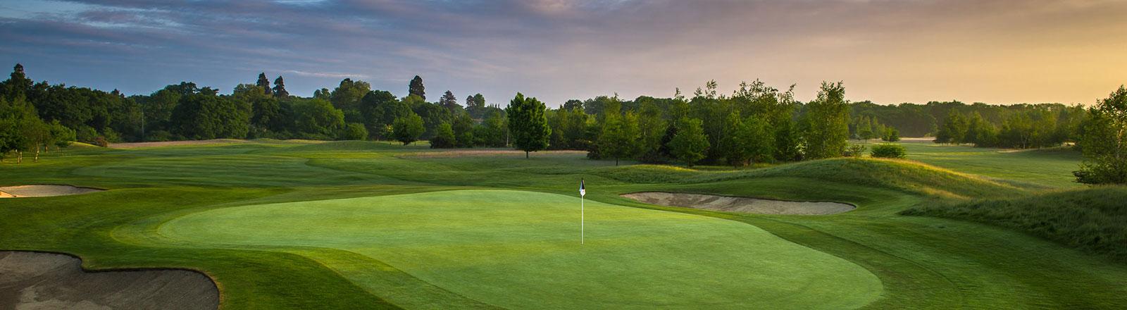 Burhill Golf Club evening shot