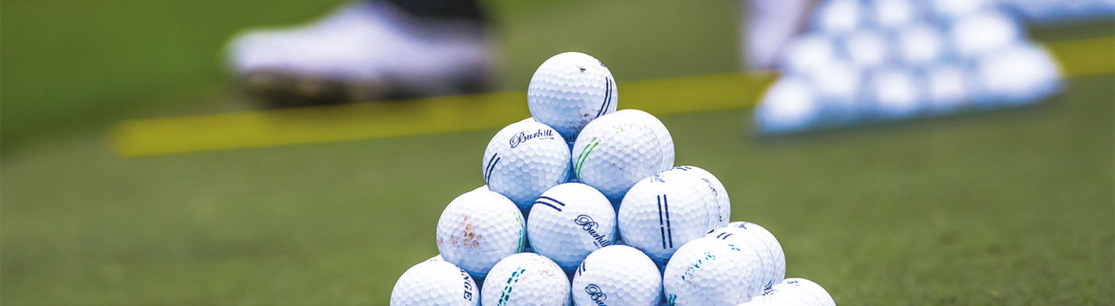 Burhill golf balls